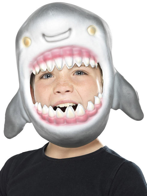 Child's Shark Animal Mask