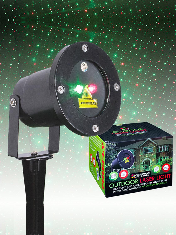 Outdoor Garden Laser Light Moving Christmas Projector