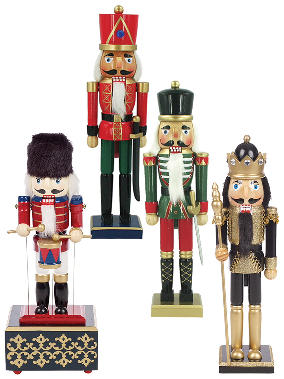 Christmas Traditional Wooden Nutcracker Soldier Festive