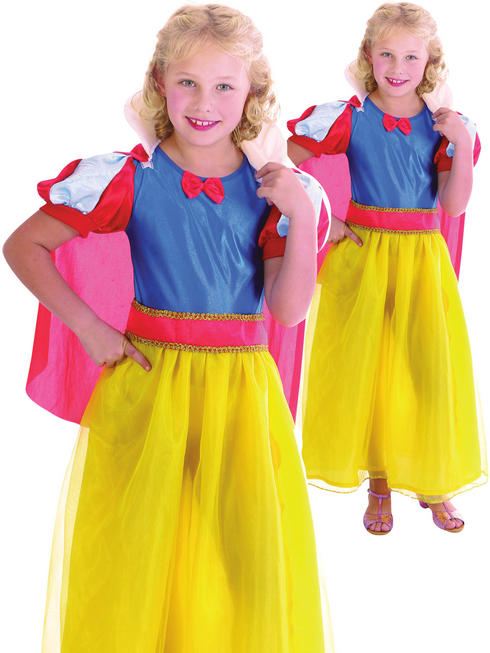 Girl's Snow Girl Costume