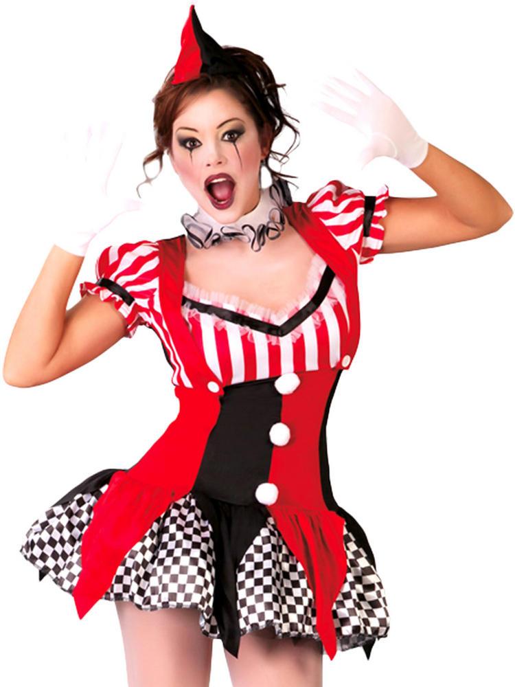 Ladies Mad Joker Costume   Fancy Dress Forever   Lady Joker