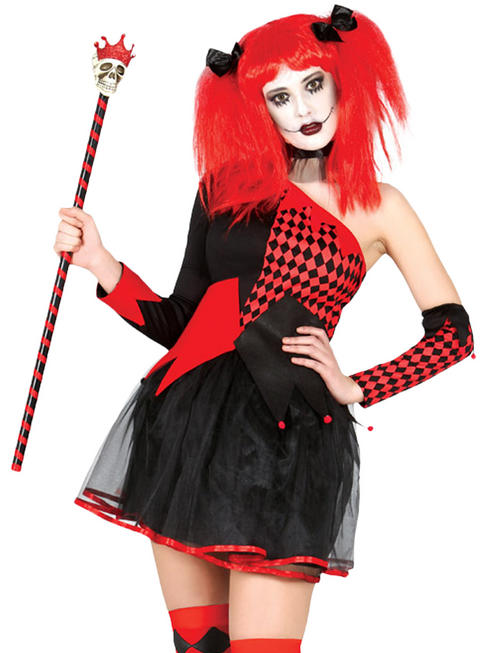 Ladies Harlequin Costume