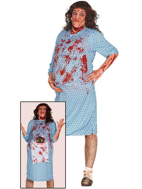 Men's Pregnant Zombie Costume