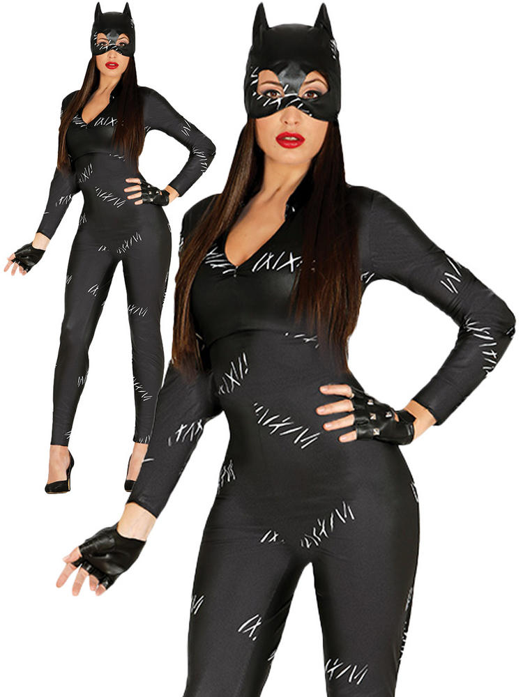 Ladies Cat Woman Costume
