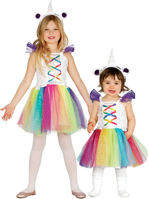 Girl's / Baby Unicorn Costume
