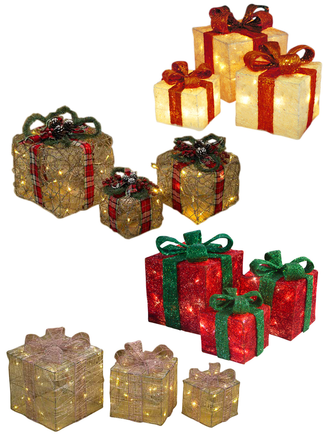 brighten up your home this christmas with these gift box light decorations suitable for indoor use