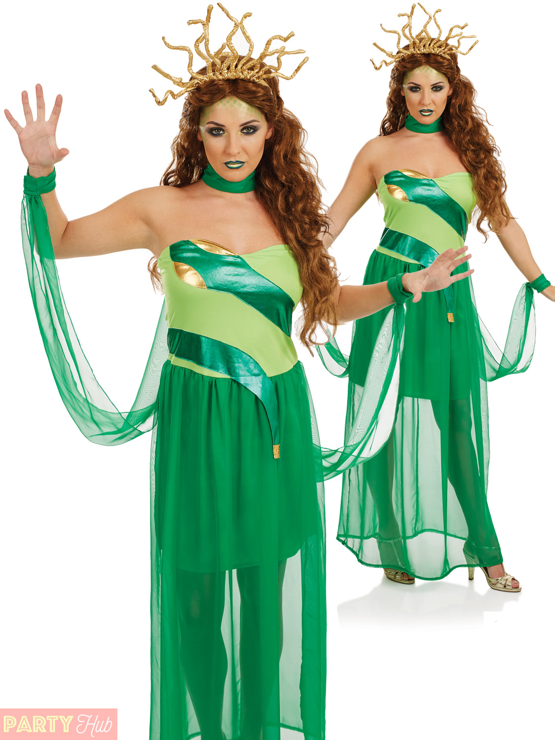 Ladies-Evil-Medusa-Costume-Womens-Halloween-Fancy-Dress-  sc 1 st  eBay : pictures of medusa costumes  - Germanpascual.Com