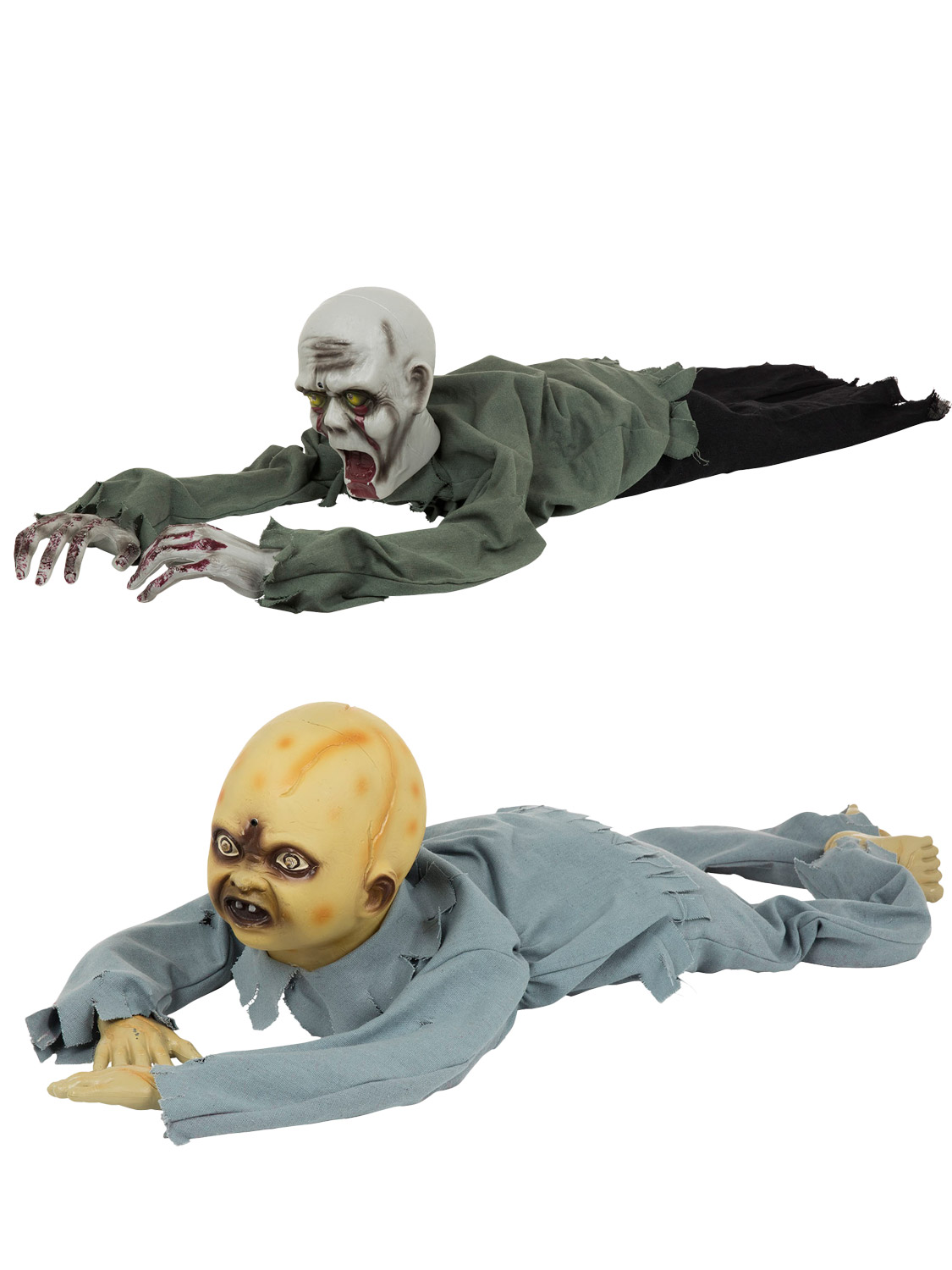 Halloween Zombie Baby Prop.Details About Animated Crawling Zombie Baby Prop Halloween Horror Party Decoration Fancy Dress