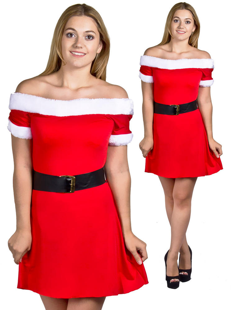 Ladies Miss Santa Dress
