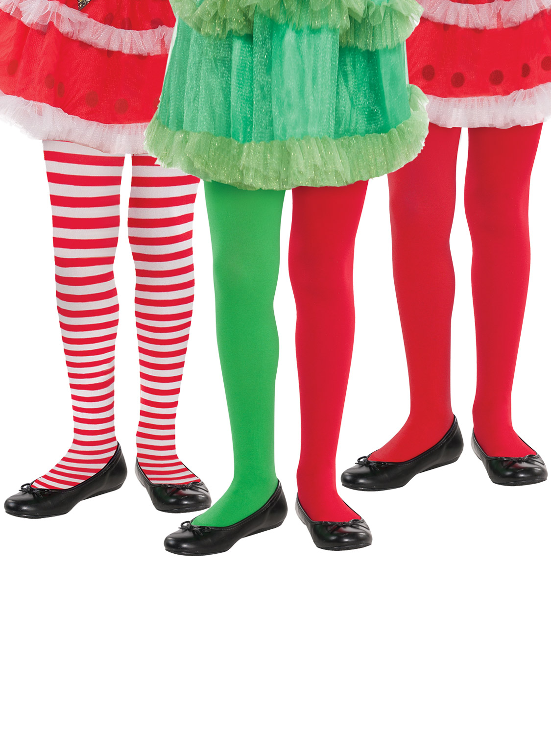 e888a72686964a Details about Girls Christmas Tights Childs Elf Santa Claus Fancy Dress  Accessory Hosiery Kids