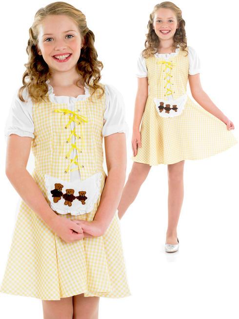 Girl's Goldilocks Girl Costume