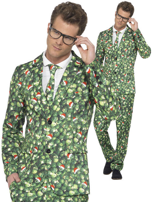 Men's Brussel Sprout Suit