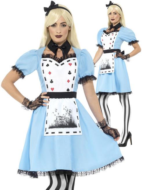 Ladies Deluxe Dark Tea Party Costume