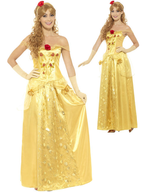 Ladies Golden Princess Costume
