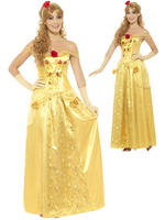 Ladies Golden Princess Costume