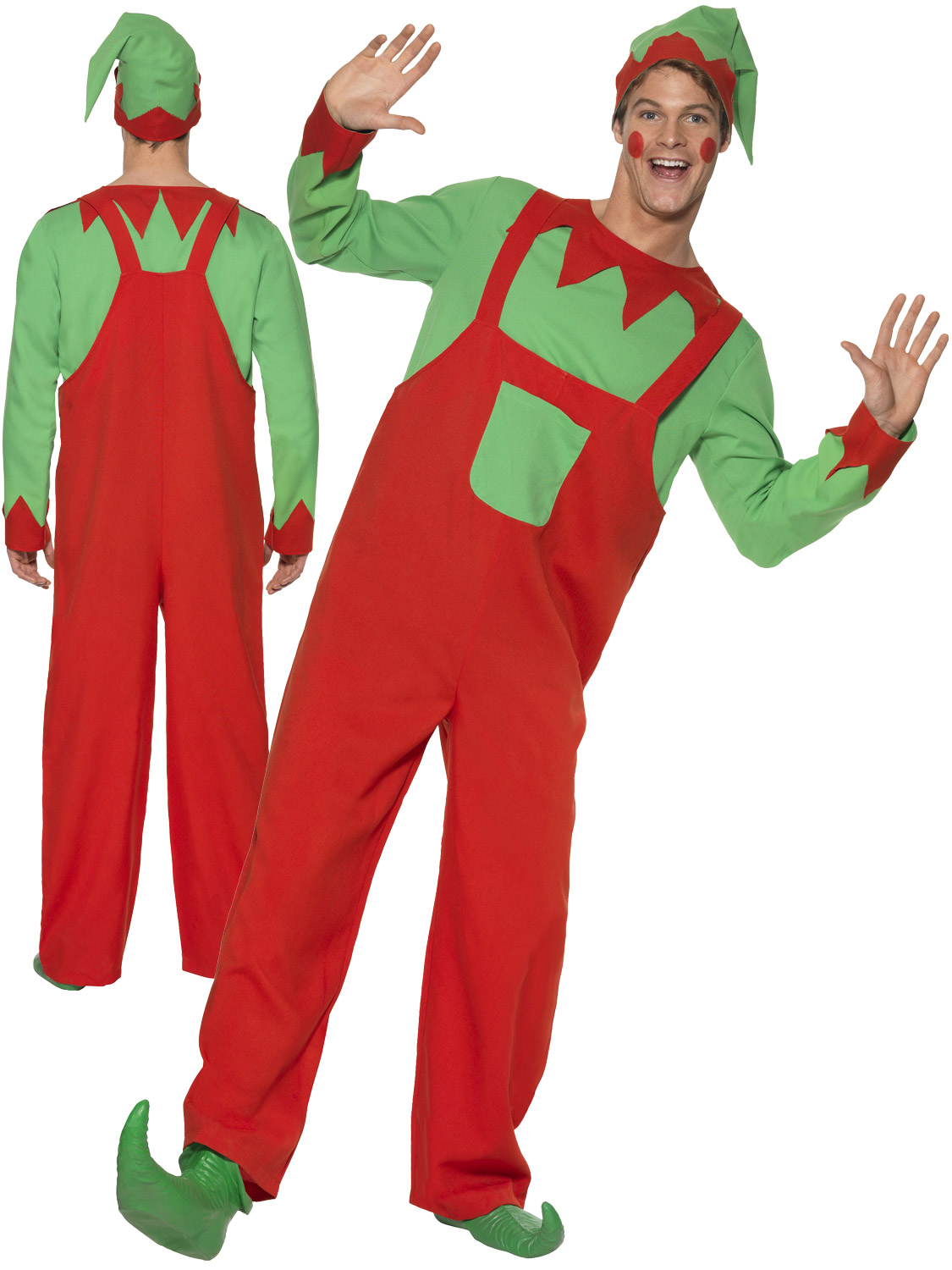 Mens workshop elf costume adults christmas fancy dress santas helper transform yourself into santas helper with this mens workshop elf costume ideal if you are going to a christmas party solutioingenieria Image collections