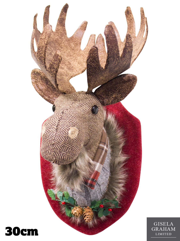 Reindeer Christmas Fabric