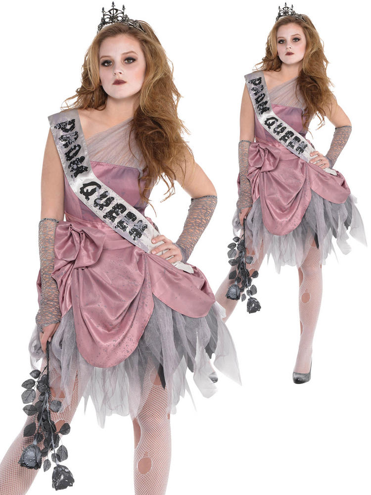 Ladies Zom Queen Costume