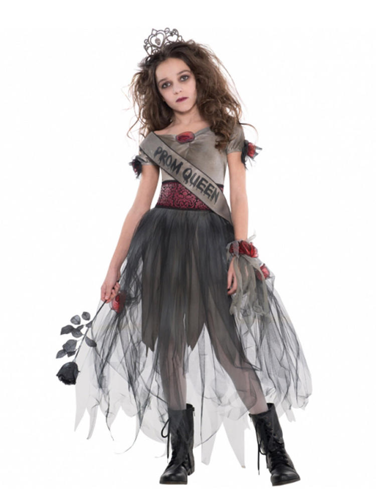 Ladies Prombie Queen Costume