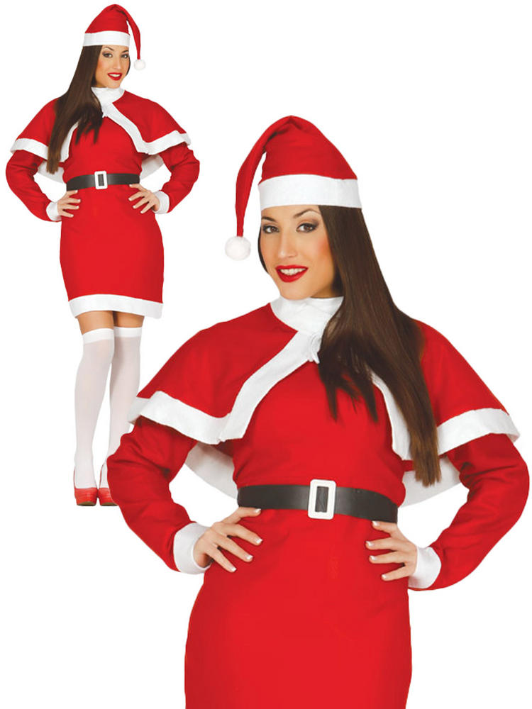 Ladies Santa Claus Costume