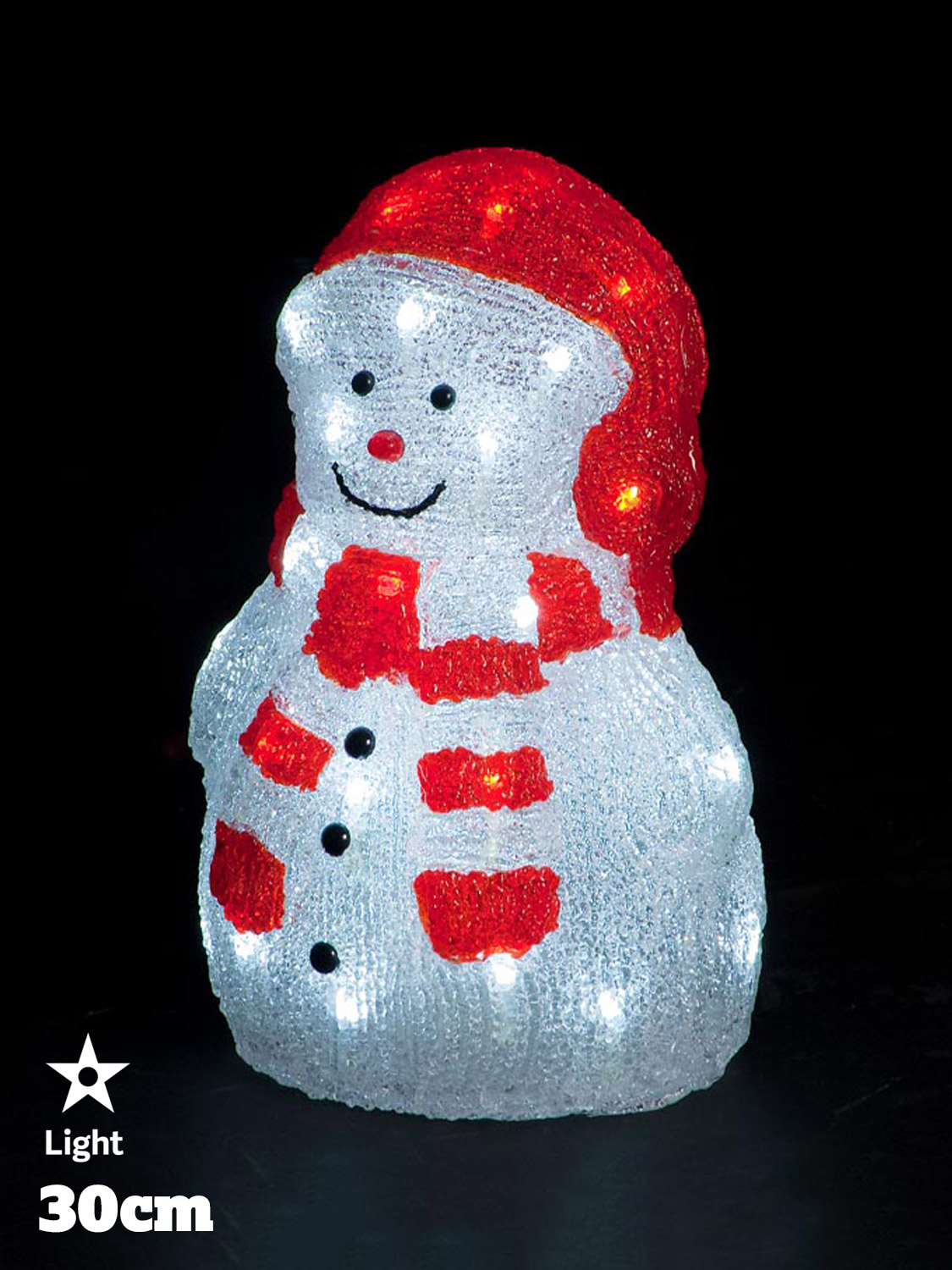 Led acrylic figures christmas decorations light up santa snowman led acrylic figures christmas decorations light up santa mozeypictures Choice Image