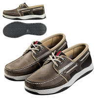 Gill Newport 3 Eye Deck Shoes - Grey - UK 6.5 Only - Last Stock