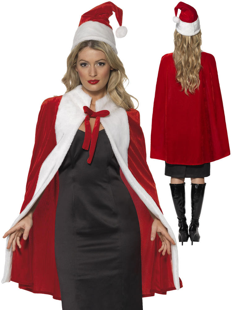Adult's Luxury Christmas Cape