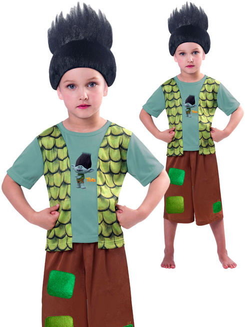 Boy's Branch Trolls Costume