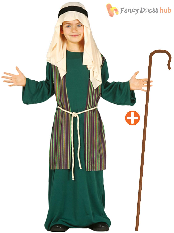 Boys shepherd joseph costume crook child christmas fancy dress boys shepherd joseph costume crook child christmas fancy solutioingenieria Images