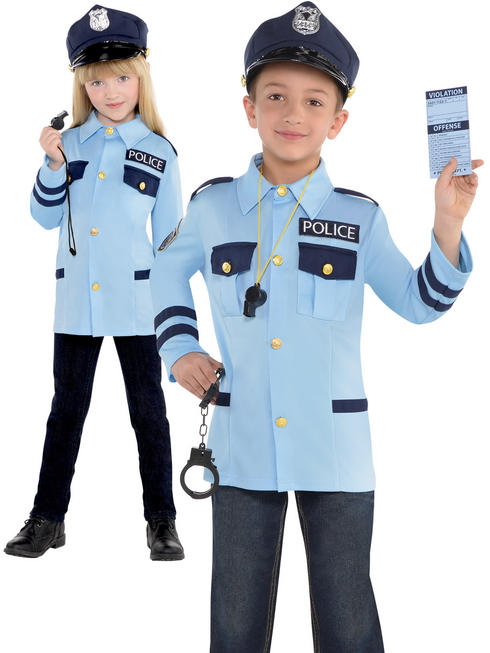 Childs Police Costume