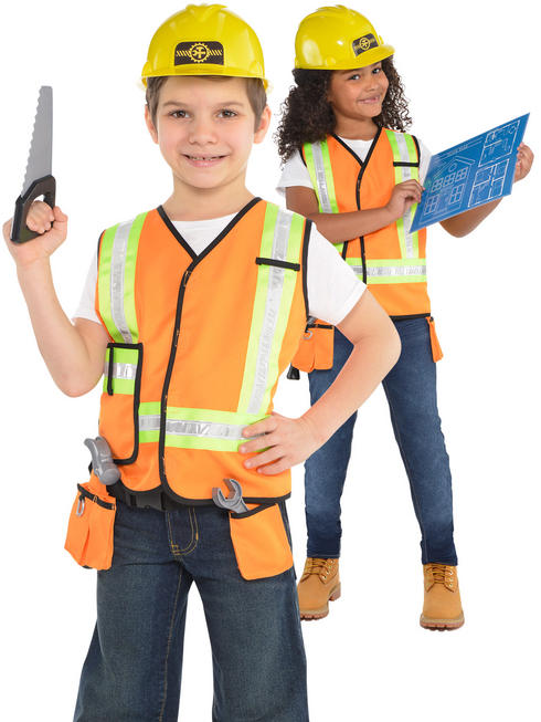 Childs Builder Costume