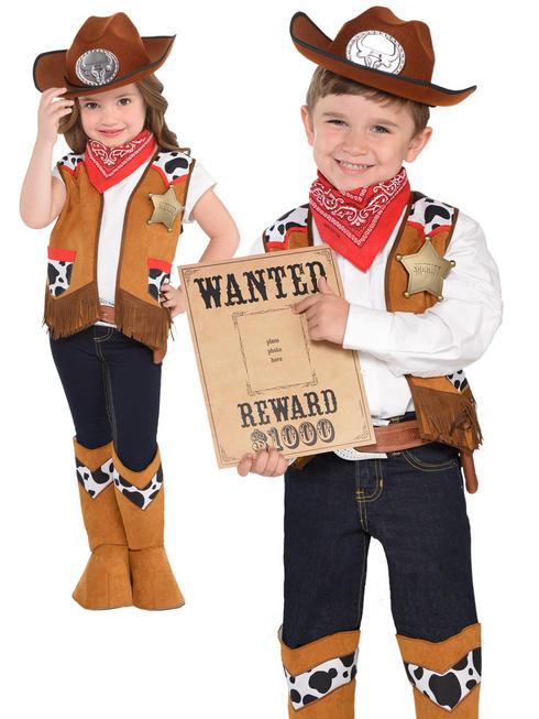 Childs Western Costume