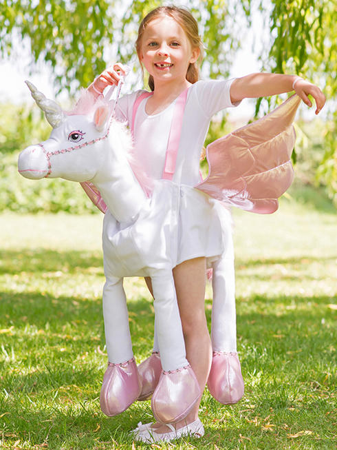 Childs Ride On Unicorn Costume