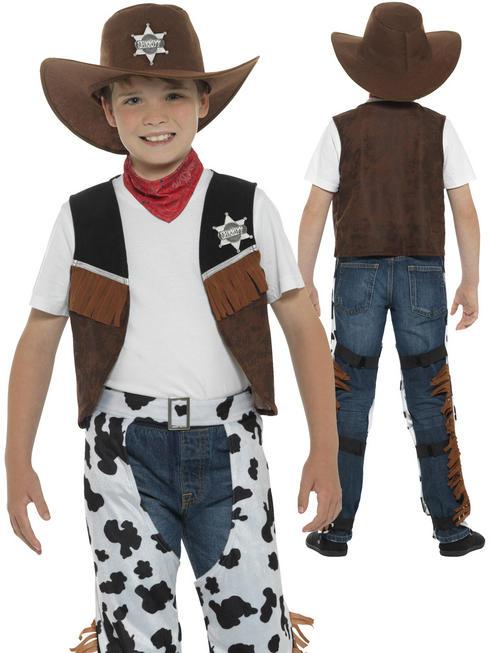 Boy's Texan Cowboy Costume