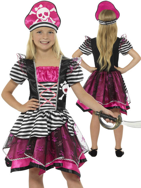 Girl's Perfect Pirate Girl Costume