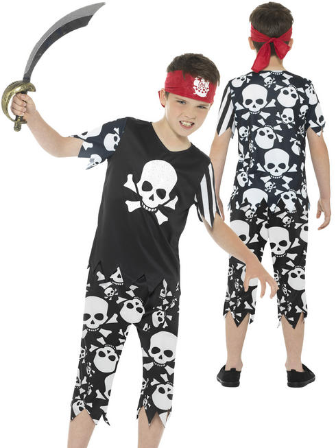 Boy's Rotten Pirate Boy Costume