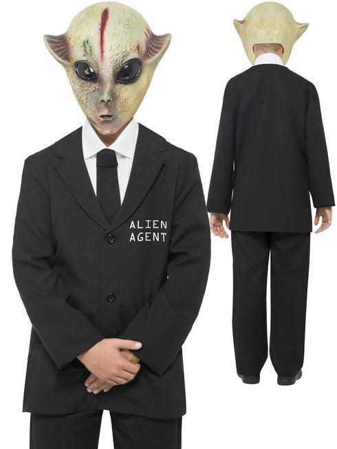 Boy's Alien Agent Costume