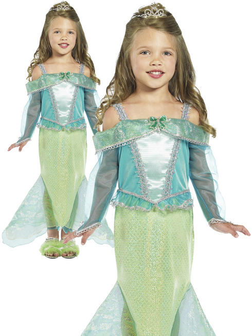 Girl's Mermaid Princess Costume