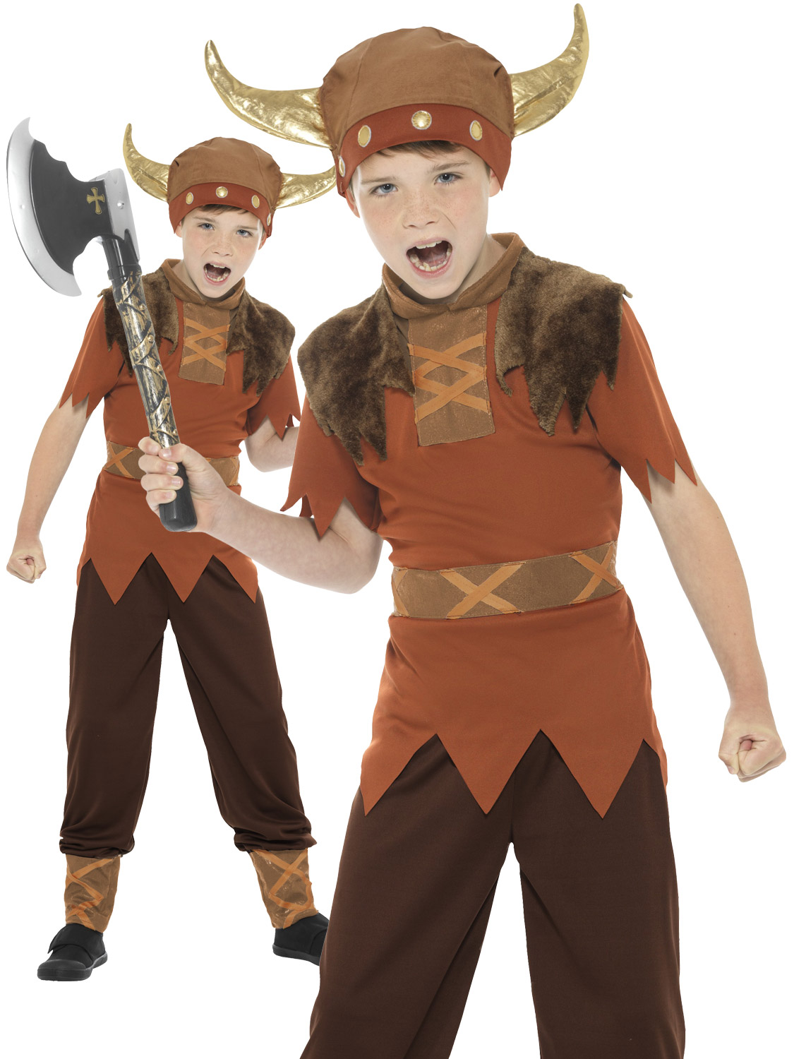 Boyu0026#39;s Viking Costume | All Children | Fancy Dress Hub
