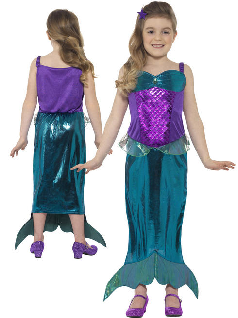 Girl's Magical Mermaid Costume