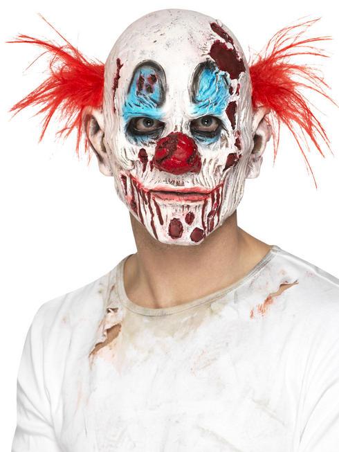 Adult's Clown Foam Latex Mask