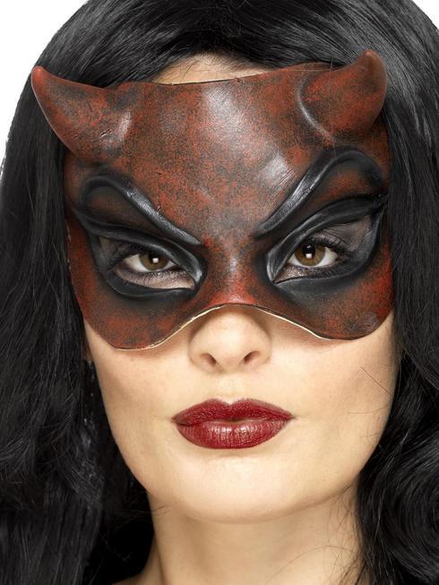 Ladies Masquerade Devil Mask