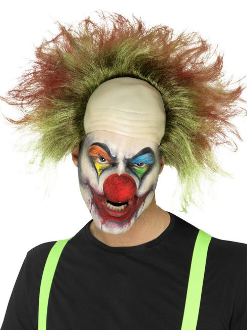 Men's Sinister Clown Wig