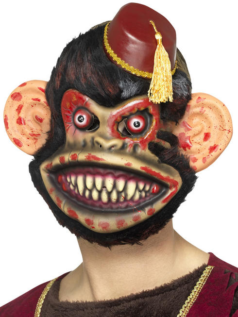 Adult's Zombie Toy Monkey Mask
