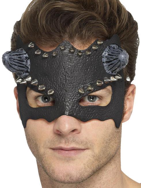 Men's Devil Studded Eye Mask