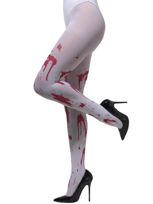 Ladies Blood Spatter Tights