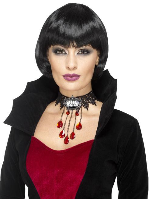 Ladies Gothic Vampire Choker