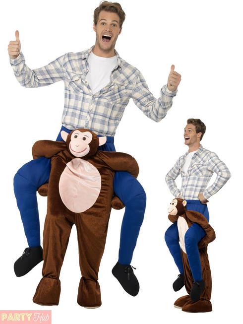 Adults Monkey Piggyback Costume