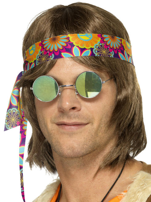 Mirrored Hippy Specs