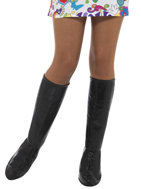 Womens Black GoGo Boot Covers